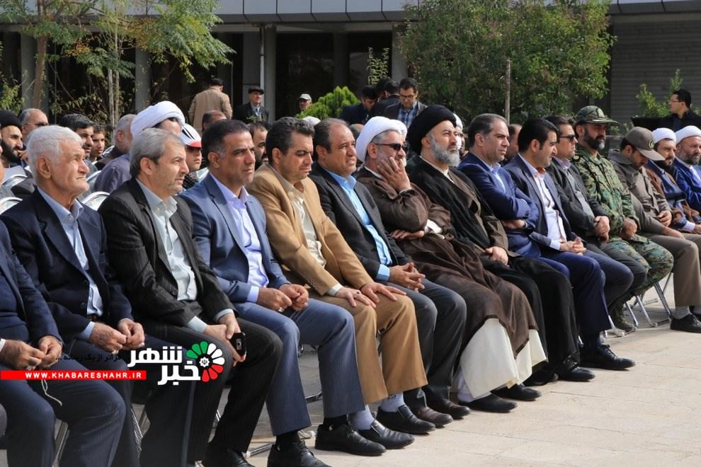 مراسم بزرگداشت 13 آبان از نگاه دوربین خبرشهر در شهر جدید اندیشه با حضور مسئولین