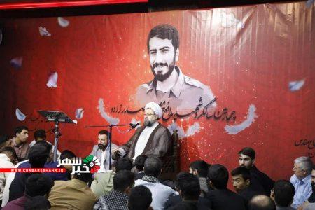 چهارمین سالگرد یادواره شهید مدافع حرم شهید صدرزاده در شهر کهنز برگزار گردید