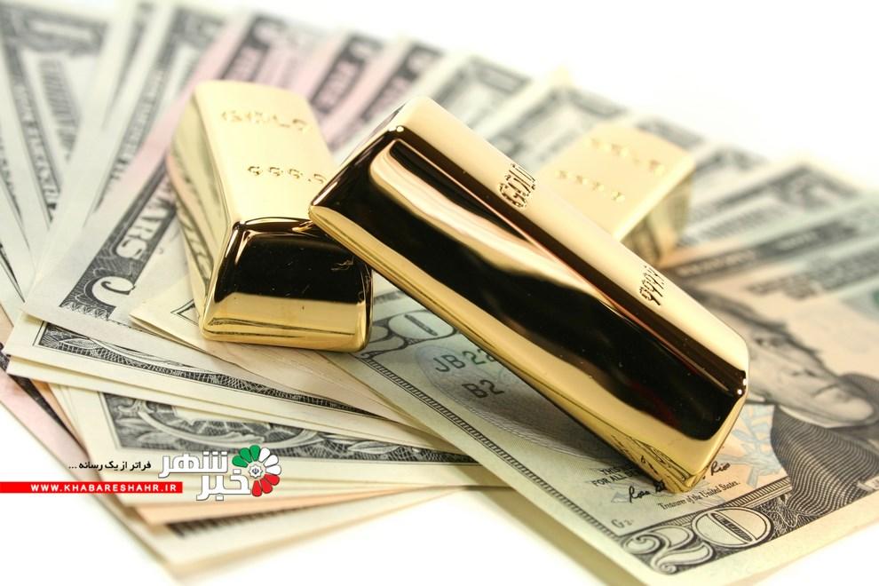 ادامه روند نزولی قیمت ارز و طلا در بازار