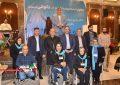 به مناسبت روز 12 آذر روز جهانی معلولین جشن با شکوهی با حضور مسئولین شهرستانی در شهر شهریار  برگزار گردید