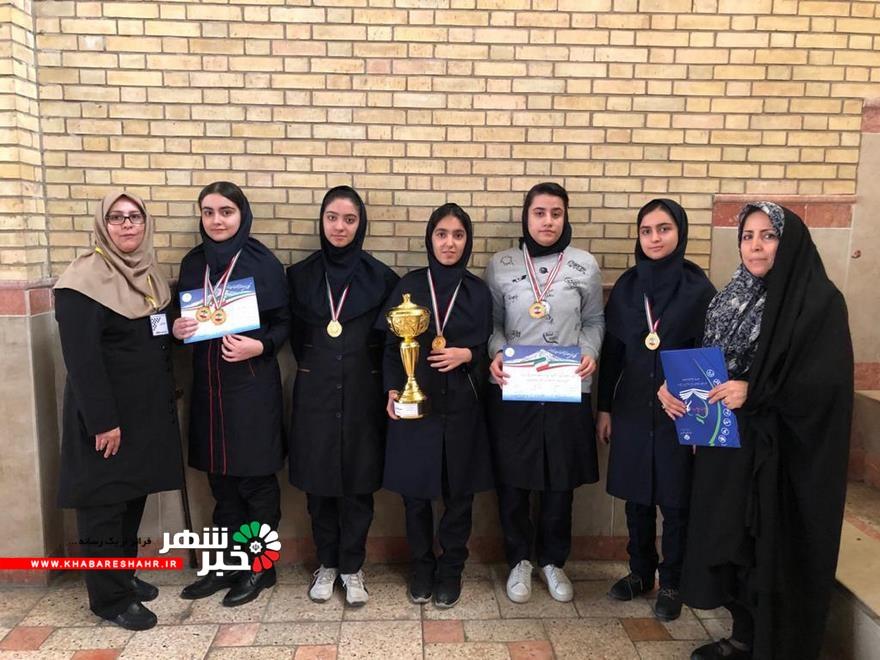 کسب مقام اول تیمی و انفرادی مسابقات شطرنج دانش آموزان استان تهران به شهریار رسید