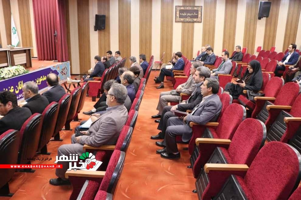 جلسه شورای اداری شهرستان شهریار با موضوع اختصاصی باغستان در حال برگزاری می باشد