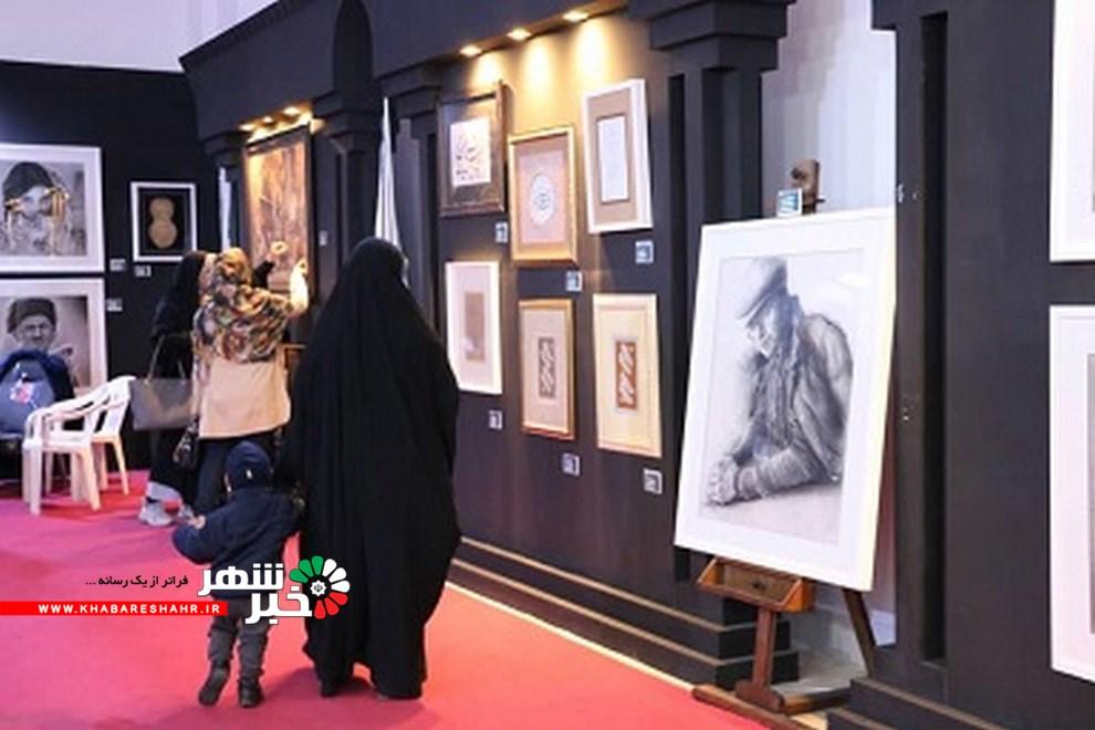 افتتاح نمایشگاه آثار هنرهای تجسمی اقوام ایرانی گروه آژنگ در گالری نقش بازار اسلامی اندیشه