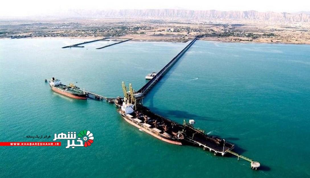 افزایش تخلیه و بارگیری مواد معدنی در خلیجفارس