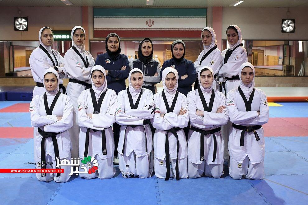 تیم ملی تکواندو زنان راهی ترکیه میشود