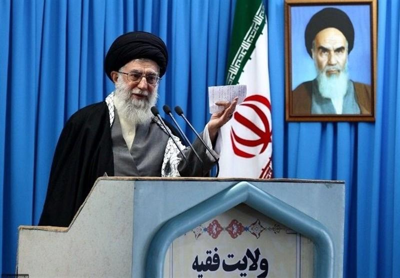 رهبر معظم انقلاب در خطبههای نماز جمعه تهران: اگر نصرت و توفیقات الهی را می خواهید در تقواست/ آن روزی که موشک های سپاه، پایگاه آمریکایی را در هم کوبید، ایام الله است/ آمریکایی ها داعش را درست کردند تا ایران را بزنند