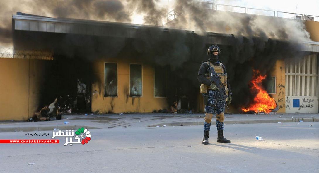 شلیک سه موشک به سفارت آمریکا در بغداد