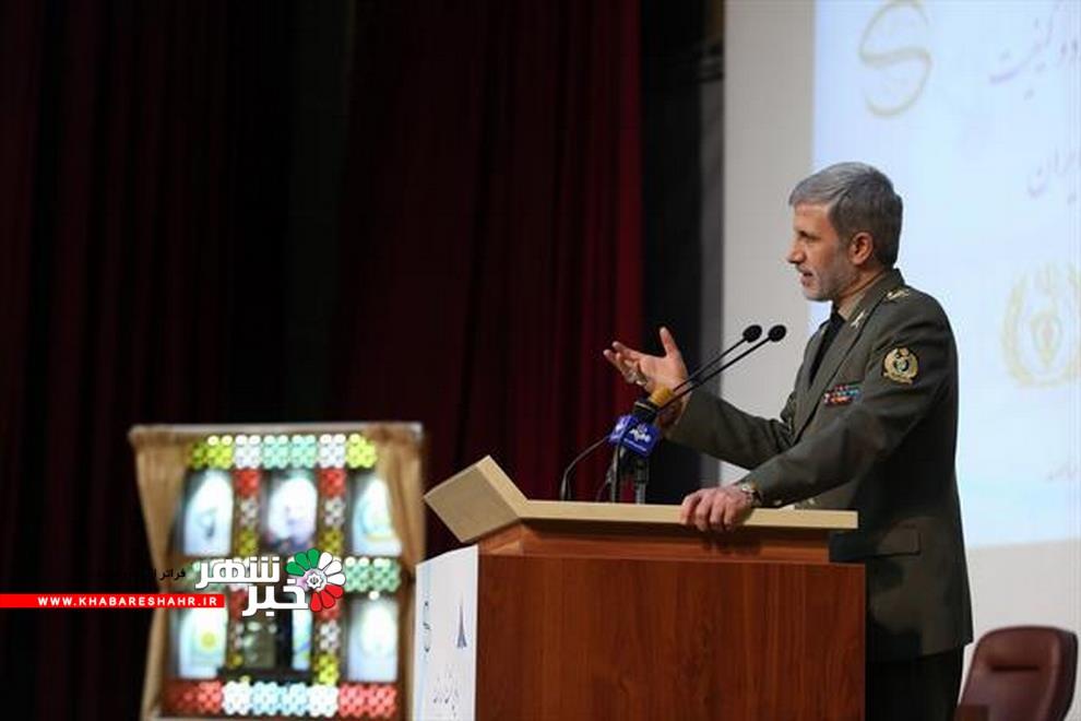 وزیر دفاع: ایران هر تهدیدی را با تسلیحات دفاعی کیفی پاسخ خواهد داد