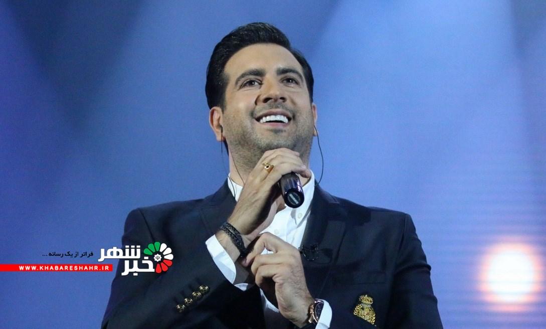 اجرای کنسرت  موسیقی به خوانندگی امید حآجیلی  در شهرستان شهریار