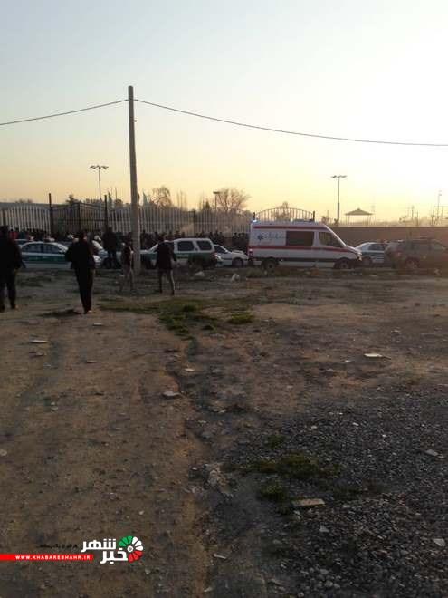 یک هواپیمای اوکراینی با ١٧١ مسافر پس از برخاستن از باند فرودگاه امام (ره) بین پرند و شهریار سقوط کرد