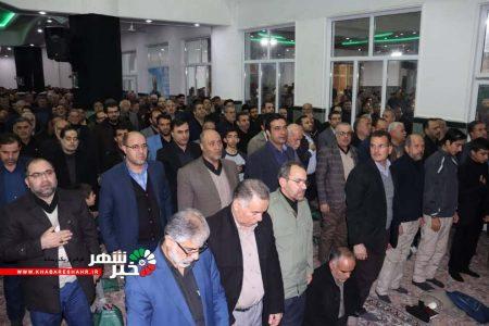 مراسم گرامیداشت سردار سلیمانی در شهریار برگزار شد