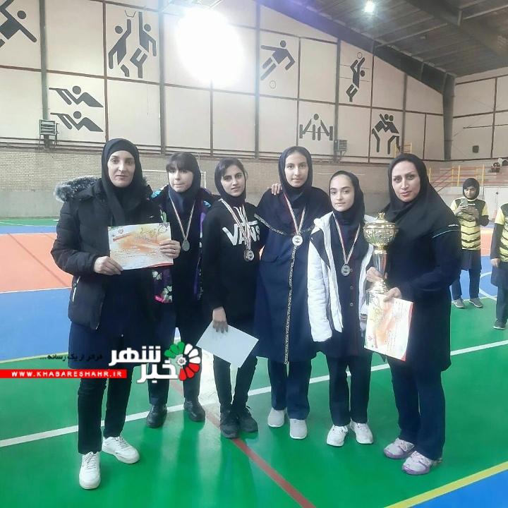 تیم طناب زنی دختران آموزش و پرورش شهریار نائب قهرمان استان تهران شد.