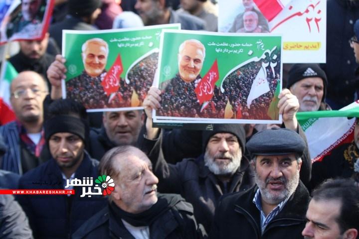 22 بهمن در شهرستان شهریار + گزارش تصویری