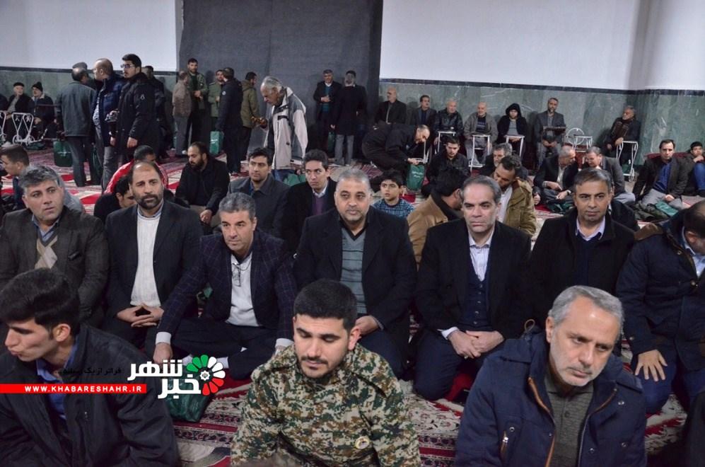 گزارش تصویری از مراسم چهلمین روز از درگذشت سردار سپهبد حاج قاسم سلیمانی در مصلی شهریار
