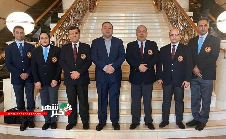 ۵ داور کشورمان نمره قبولی داوری جهانی کاراته را دریافت کردند