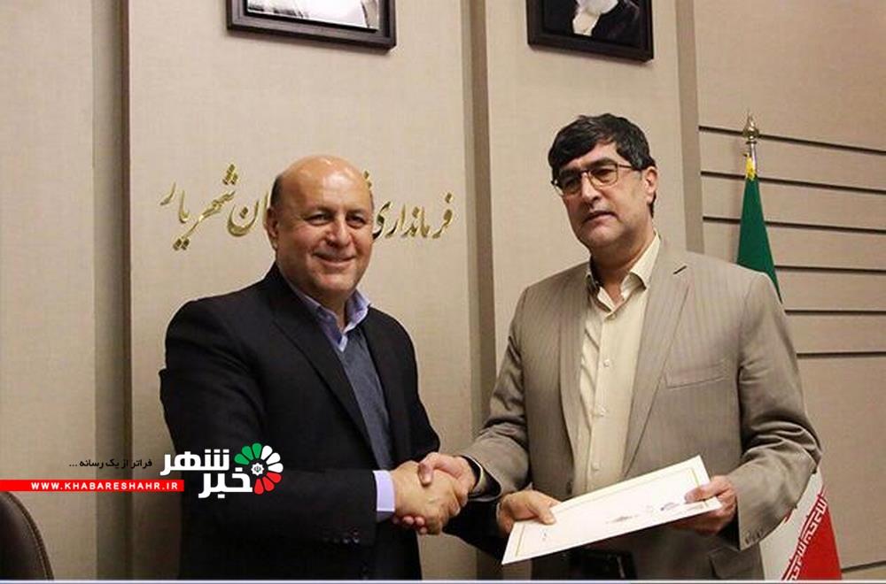 معارفه رضا غلامی به عنوان سرپرست معاونت سیاسی، امنیتی و اجتماعی فرمانداری شهریار