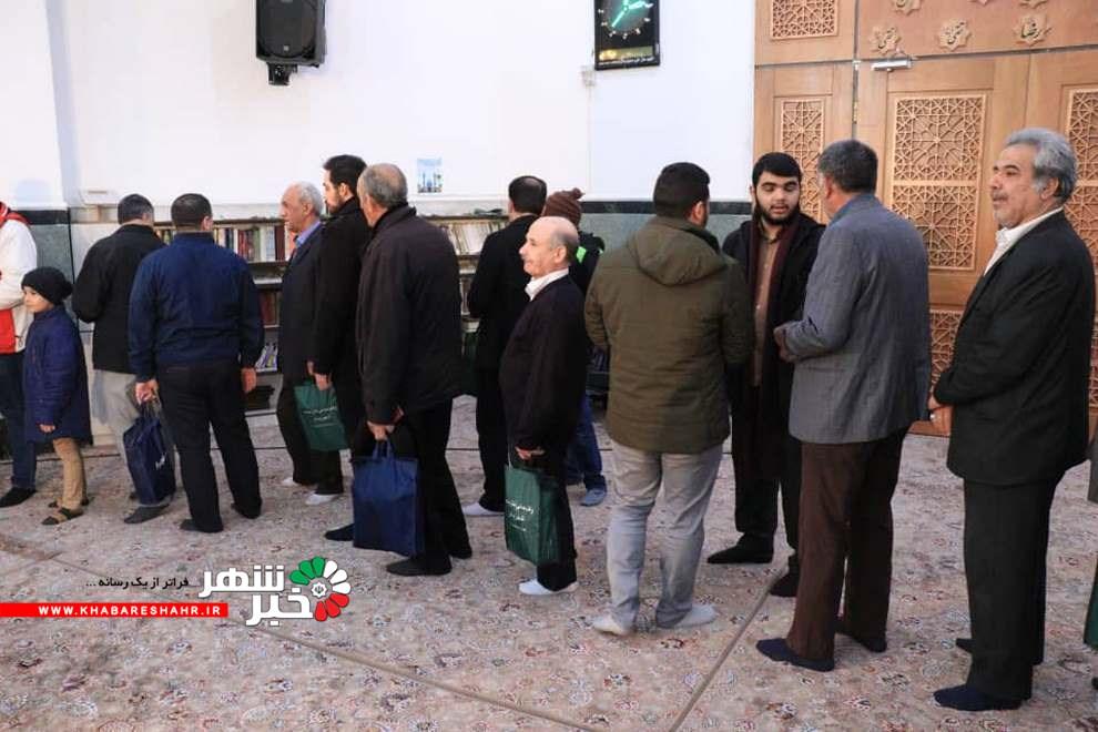 گزارش تصویری از حضور مردم شهریار در مصلی بزرگ امام خمینی (ره)