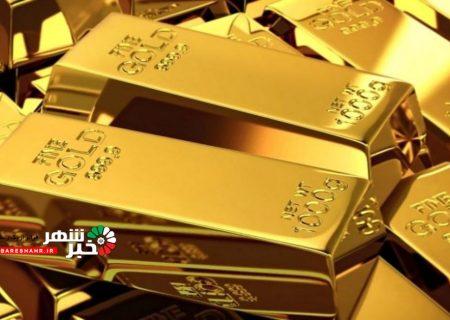 تداوم روند کاهشی قیمت جهانی طلا