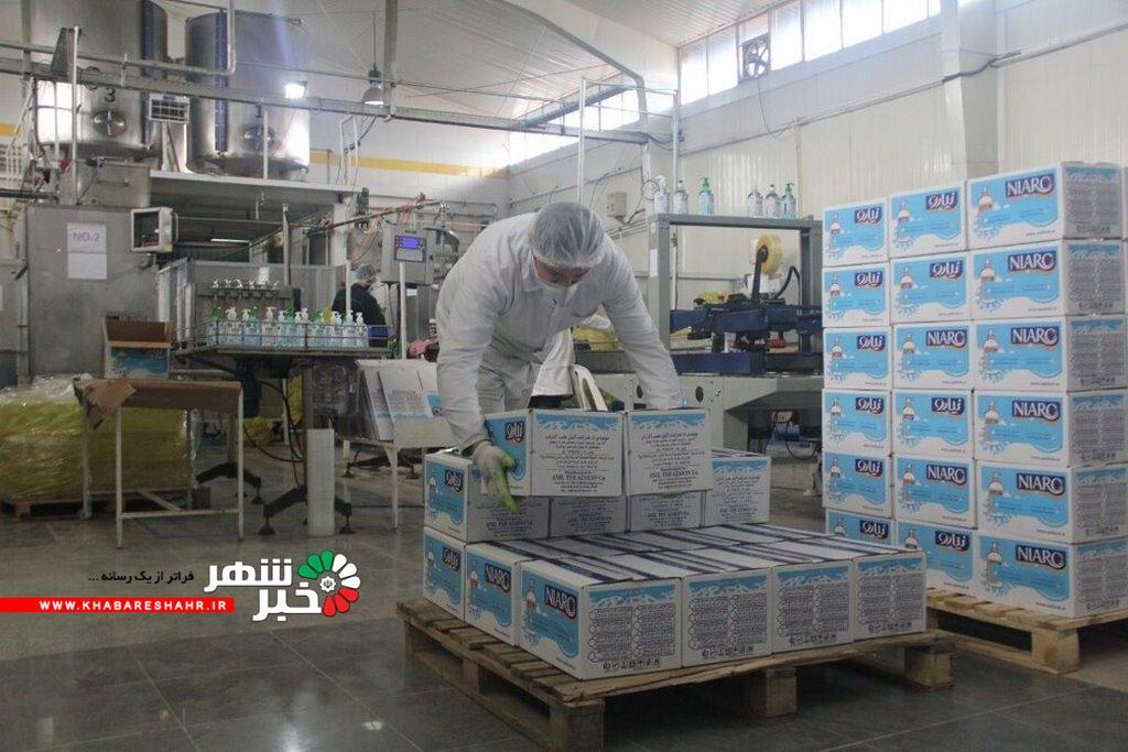 فعالیت ۴۰ واحد صنعتی در کشور برای تولید محلول و ژل ضدعفونی کننده