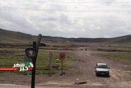 کوه تخت رستم شهریار محل تجمع تعداد زیادی از گردشگران در این روزها+عکس