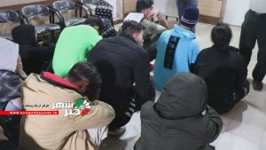 با هوشیاری پلیس غرب استان تهران پارتی مختلط شبانه در شهریار برچیده شد + فیلم