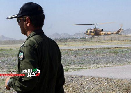 اعزام بالگردهای ارتش و سپاه برای اطفای حریق جنگلهای بوشهر و خوزستان