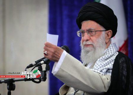 رهبر انقلاب ۱۴خرداد با مردم سخن میگویند