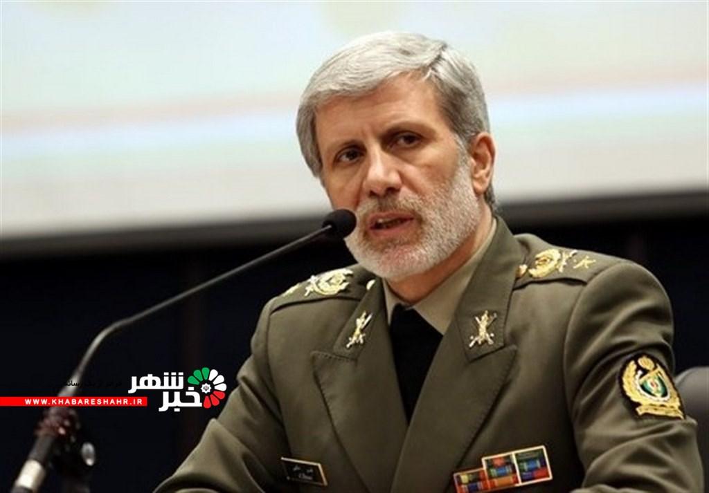 خط و نشان وزیر دفاع ایران برای دشمن
