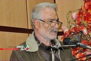 بزرگداشت هم رزم شهید صارمی خبرنگار مرحوم محمد علی مرادی