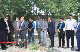 حضور مسئولین درآرامگاه ابدی پیشکسوت عرصه خبری شهرستانهای شهریار و ملارد