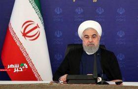 روحانی:تأمین امنیت مردم یک روز تعطیل نشده است
