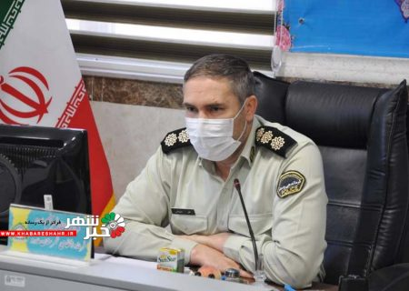 نشست خبری ستاد فرماندهی نیروی انتظامی شهرستان ملارد برگزار گردید