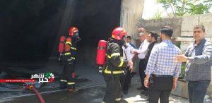 آتش سوزی کارگاه یونولیت سازی در ملارد