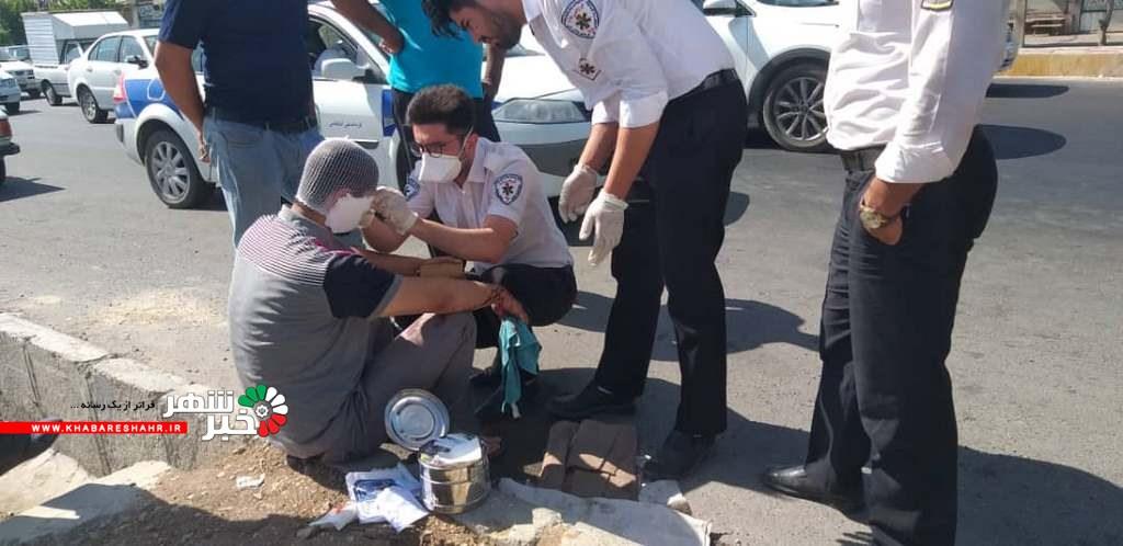 تصادف با خاور در یوسف آباد صفادشت ۱ مجروح بر جا گذاشت