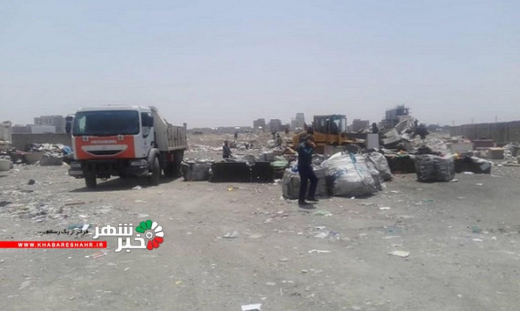 جمع آوری زباله گردها و مراکز دپو و تفکیک غیر بهداشتی زباله های خشک