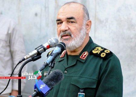 خبر فرمانده سپاه از تهدیدات خطرناک مرزهای ایران