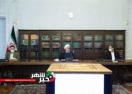 روحانی: بخش دولتی باید پیشتاز مقابله با گرانی باشد