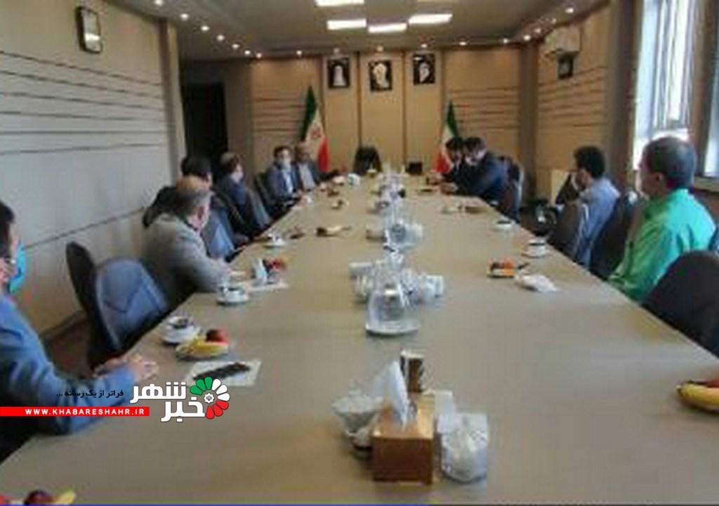 جلسه هم اندیشی حراست فرمانداری شهریار با مدیران حراست استان