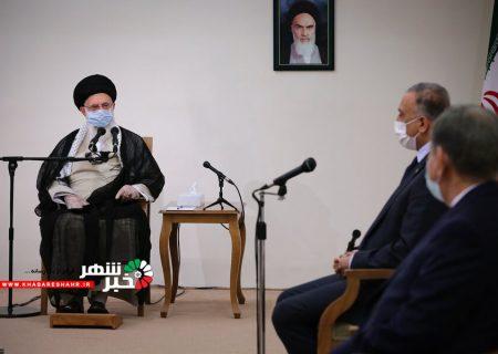 رهبر معظم انقلاب: جمهوری اسلامی ایران قطعاً ضربه متقابل را به آمریکاییها خواهد زد | با تضعیف دولت عراق مخالفیم