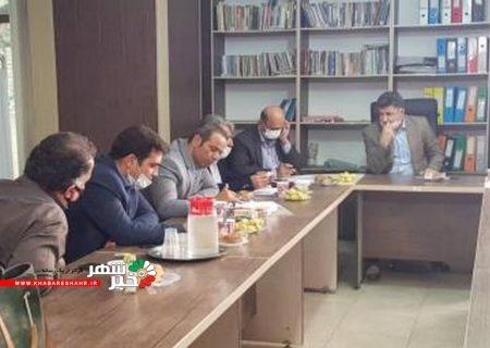 جلسه مسکن روستایی مددجویان در بهزیستی شهریار برگزار شد