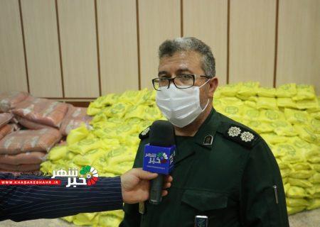 اللهیاری در خصوص توزیع ۱۲۰۰۰ بسته معیشتی بین خانواده های شهریاری توضیح داد