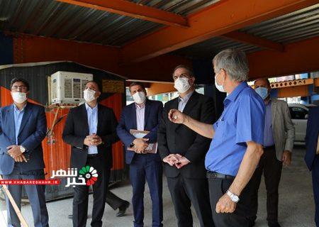 بازدید شهردار شهریار و اعضاء شورای اسلامی شهر از پروژه های در حال احداث