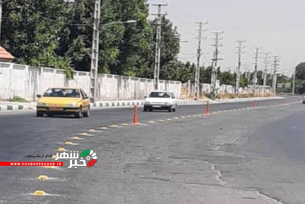 ایمن سازی جاده حد فاصل میدان نماز تا رزکان