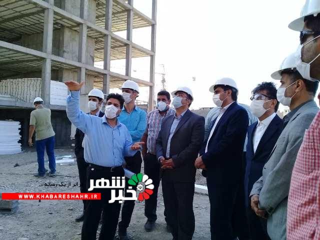 بازدید مهندس طاهرخانی مدیر عامل شرکت عمران شهرهای جدید از شهر جدید اندیشه