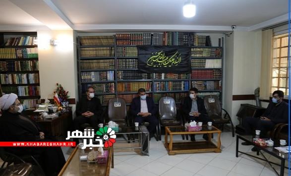 دیدار شهردار شهریار و اعضاء شورای اسلامی شهر با امام جمعه شهریار