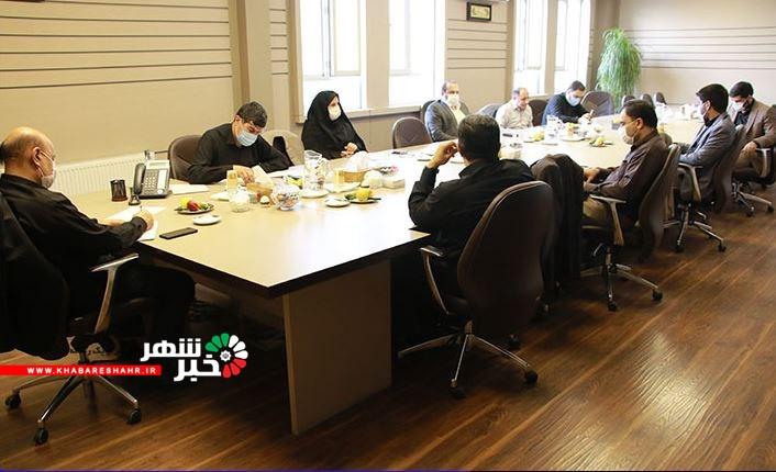 نشست شورای معاونین فرمانداری شهرستان شهریار