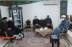 برگزاری نشست هم اندیشی فرماندار با جمعی از روحانیون شهرستان شهریار شهر فردوسیه