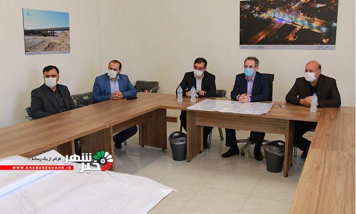 بازدید استاندار تهران از پروژه تقاطع غیر هم سطح ورودی شهریار (دپو)