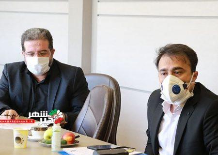 جلسه بررسی مسائل مربوط به توسعه بیمارستان میلاد شهریار برگزار شد