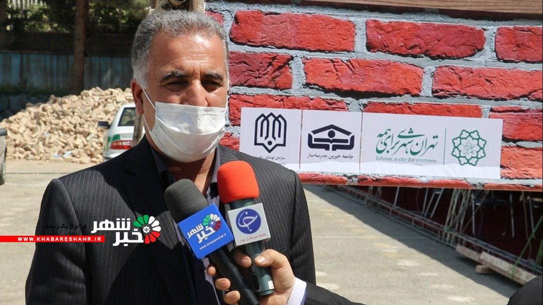 توضیحات شهردار وحیدیه در  خصوص آغاز عملیات ساخت ۲ مدرسه در شهر وحیدیه شهریار